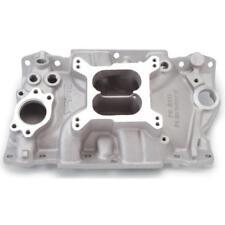 Edelbrock Intake Manifold 2111; Performer Satin Aluminum for Chevy 3.8/4.3l V6