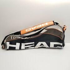 Head Tour Team Combi Tennis Bag Climate Control Technology Black White Orange