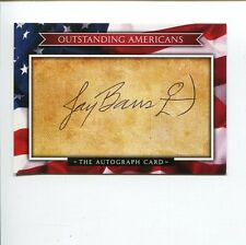 Jay Barrs US Olympic Gold Silver Medal Archer Archery Signed Autograph Card