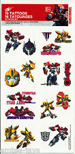 Transformers Tattoos x 8 - Transformers Birthday Party - Autobots - Favours Loot