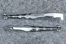Suzuki GSXR 600 750 1000 GSXR600 GSXR750 GSXR1000 CHROME SKULL LEVERS