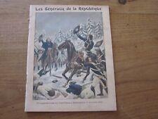 12 Protège Cahier Ancien Généraux République (Napoléon) jamais utilisé Méjanel