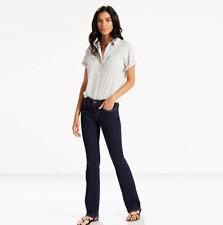 Levis 715 Boot cut Women's Dark Wash Jeans NEW Size 29 x 34