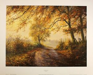 "*Rex Preston* ""AUTUMN GOLD"" Print Art Rare Sold out Brand New Last Few"