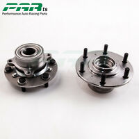 PAIR FRONT WHEEL BEARING HUB KIT for MITSUBISHI TRITON ML MN 4WD 07-ON NEW PAR