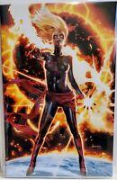 Captain Marvel #12 Anacleto VIRGIN Variant w/ COA 1ST APP DARK STAR