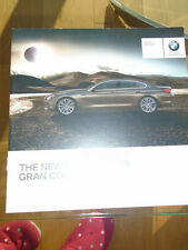 BMW 6 Series Gran Coupe introduction brochure Jan 2012 small format