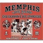 Memphis Jug Band With Gus Cannon's Jug Stompers, Memphis Jug Band, Audio CD, New