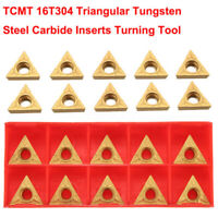 10pcs TCMT16T304 Tungsten Carbide Inserts TCMT 32.51 For 1/2 Lathe Turning Tool
