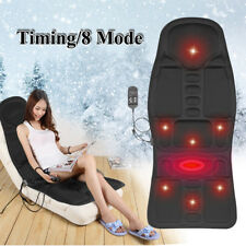 Chair Heat Heater Seat Cover Cushion Back Neck Body Massage Car Office Home US