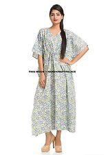 Women's Boho Caftan Kimono Sleeve Kaftan Cocktail Maxi Dress Plus Size Tunic 4XL