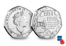 The First World War Centenary Fifty Pence Coin [Ref: PG2]