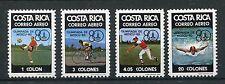 Costa Rica 1065/68 postfrisch / Olympiade ................................1/1658