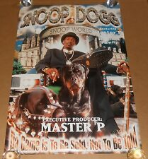 Snoop Dogg Da Game is to be Sold Poster 1998 Original 36x24