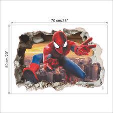 Spiderman Marvel  Wandtattoos Wanddeko Wandaufkleber Aufkleber Wand Sticker