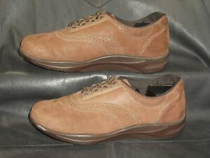 SAS Tripad Comfort Walk Easy women's brown nubuck casual oxford shoes sz 10 1/2M