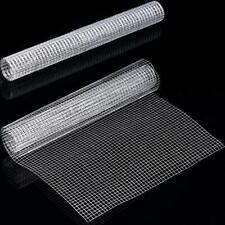 2 Sheets 1/4 Inch Wire Metal Mesh Chicken Wire Net for Craft Work, 13.7 x 40
