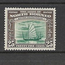 George VI (1936-1952) Mint Hinged North Bornean Stamps