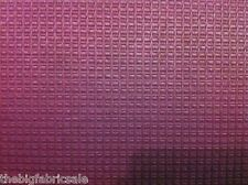 Aubergine Purple Jaquard Upholstery Curtain Fabric Material Clearance SALE!