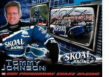6 2003 NHRA DRIVER POST CARDS - 2 SIGNED SKOAL RACING TOMMY JOHNSON & RON CAPPS