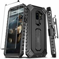 For Samsung Galaxy S9 PLUS Case Premium Holster Defender Clip Rugged Screen P
