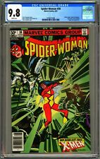 SPIDER-WOMAN #38 - CGC 9.8 - NEWSSTAND - WP - NM/MT - X-MEN JUGGERNAUT BLACK TOM