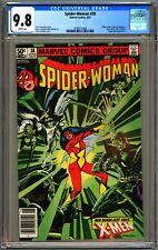 SPIDER-WOMAN #38 - CGC 9.8 - NEWSSTAND - WP - NM/MT - X-MEN JUGGERNAUT BLACK TOM