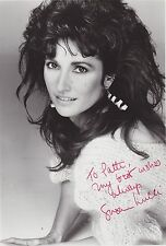 #MISC-0748 - 8x10 AUTOGRAPHED SIGNED PHOTO-  SUSAN LUCCI - ACTRESS