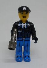 Lego 4 Juniors / Jack Stone Figur - Police, Polizei, Uniform, mit Zubehör - neu