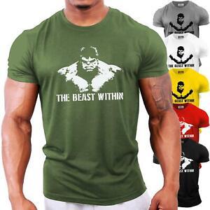 Incredible Hulk Bodybuilding T-Shirt | Gym Workout Training Motivation Top