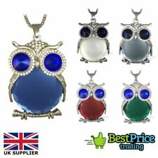 Animals & Insects Round Crystal Costume Necklaces & Pendants