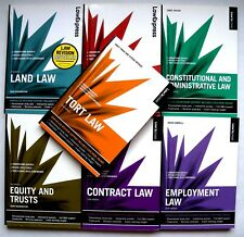 7 Law Related paperback Books, Law Express, Various Titles, 2009, 2010, 2011.