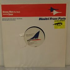 "Dimitri From Paris Featuring Omar ‎– Strong Man (For Real) (Vinyl 12"" Maxi 33 T)"
