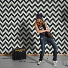 Black and White Metropolis Zigzag Paste the Wall Wallpaper by Michalsky 93943-1