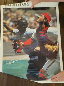 1978 SPORTS ILLUSTRATED SI TED SIMMONS ST. LOUIS CARDINALS BREWERS BRAVES HOF