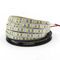 5m led strip 5630 5730 SMD tape light rope stripe Flexible Tape Cabinet lamp DC