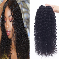 Brazilian Human Hair Natural Color Jerry Curly Real Human Hair Bundles Weaves