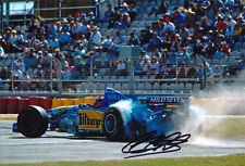 Johnny Herbert Signed 8X12 Inches Benetton F1 Photo