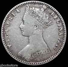 """1849 VICTORIA """"Godless"""" FIORINO Nizza collecable Grade chiaro dettaglio"""