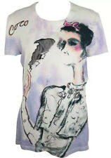 Chanel Coco 12p Vintage 3-d SMOKING Top 34 36 38 2 4 6 T Shirt 2012 Top Sweater