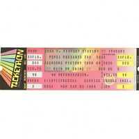 JACKSON FIVE Concert Ticket Stub PHILLY 9/3/84 JANET LATOYA MICHAEL VICTORY TOUR
