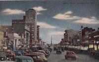 Postcard Broad Street Augusta GA