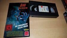BLOOD DINER - Jackie Kong - Lightning Video Verleihtape - ab 18 - VHS