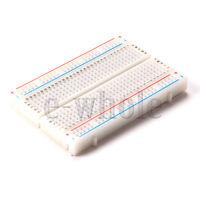 Mini Universal Solderless Breadboard 400 Tie-points Available ASS