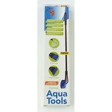 Superfish Aqua Herramientas 4 En 1 De Peces De Acuario neto grava Rastrillo algas raspador esponja