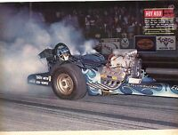 1969 Great Magazine Pic of Larry Dixon's Fireside Inn Top Fuel Dragster