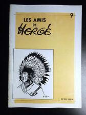 Rare à ce prix ! Copie Revue des Amis de Hergé N° 9 Tintin ADH TBE
