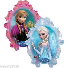 FROZEN Elsa & Anna SUPERSHAPE BALLOON ~ Disney Princess Birthday Party Supplies