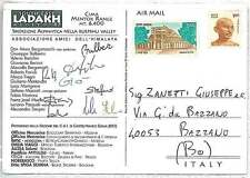 MOUNTAINEERING - Postal History : ITALIAN EXPEDITION to INDIA 1997
