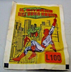 bustina originale sigillata IL RITORNO DELL'UOMO RAGNO - ED. SOLARIS MARVEL 1979